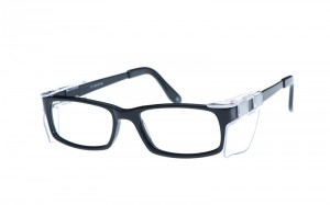 Wildhorn Black hybrid frame 52×16 with removable side shields